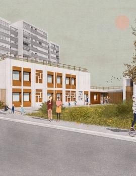 Neuilly sur Marne – Réhabilitation crèche