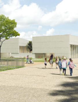 Questembert – Nouvelle école maternelle et réhabilitation groupe scolaire