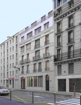 Paris – Réhabilitation immeuble de bureaux et logements